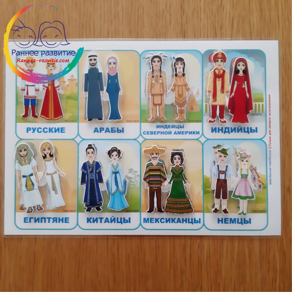 национальные костюмы народов мира с названиями