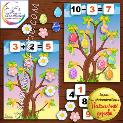 Математическая игра «Пасхальное дерево»